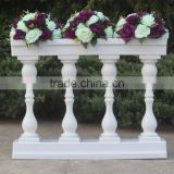 LDJ569 indoor decorative plastic white wedding decorating roman pillar