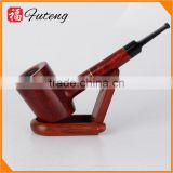 Handmade Briar Smoking Pipe Straight Type Tobacco Pipe Wooden Pipe smoking