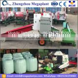 Full automatic alfalfa silage baler and wrapper machine /small bale hay baler