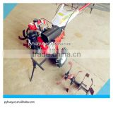 Hot sale!! 6hp Mini diesel power tiller for agriculture tiller