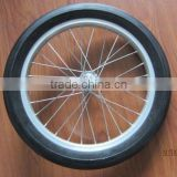 16 inch miniature bicycle pu foam solid wheels