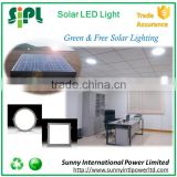 30 watt solar panel powered indoor led sensor light daylight led ceiling light