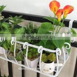 hanging garden basket metal folding plant stand home decoration flower stand new design