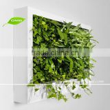 GNW GLW068 artificial wholesale vertical wall garden planter systems for small garden designs