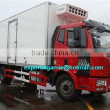 hubei chengli factory sale middle scale 6 wheeler faw 10t freezer lorry