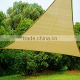UV Outdoor Shade Sail Knit PE 5 x 5 x 5m Triangle