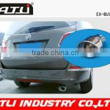 Car Stainless steel akrapovic carbon fiber exhaust pipe