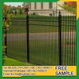 Outdoor fence wrought iron ornamental railings for road