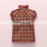 Fashion cherry baby girl blouse design