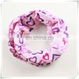 Colorful Cotton bandana wholesale cheerleading hair bow
