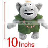 2015 hot selling Animal big toy stuffed animated series , having a large head big eyes