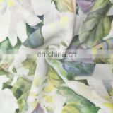 Hot Sell 100% Rayon Digital Printing Fabric With Flowers