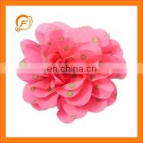 nice big size chiffon flower applique
