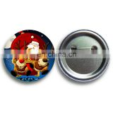 2015 Hot sales Christmas Name badge Supplier / button badge pin /Cloth pin for promotional gift, decorations,