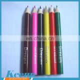 Custom Color Pencil With Stamp Printing Logo