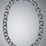 925 DY Inspired Sterling Silver Oval Link Necklace