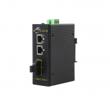 3-Port 10/100M Industrial PoE Switch with 2FE POE port + 1 fiber port