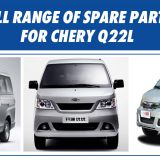 Full range of spare parts for CHERY Q22L