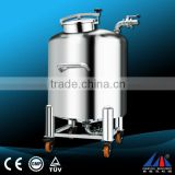 FLK moveable tank , mixing vessel ,stainless steel tank
