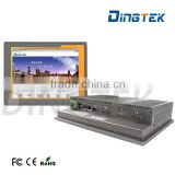 "DT-P104-I Industrial fanless i3/i5/i7 CPU 10.4"" touch screen panel pc 15 inch all in one touch screen pc"