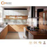 European style PVC kitchen cabinet,aluminum profile for kitchen cabinet