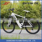 2015 36V 10ah li-ion battery electric bike, an E-bike with rear shock high quality fast running