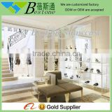 Stainless steel metal cabinet display furniture for shoe store