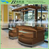 Custom made cosmetic retail merchandising unit for sale, retail merchandising unit with LED lights