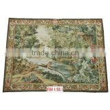 Aubusson Wall Hanging Rugs, Hand Made Carpet
