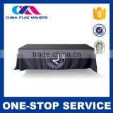 Promotional Price Customized Logo Fabri Material And 100% Polyester Fabric Type Table Cloth