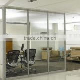 office Screens & Room Dividers Type Modern Aluminumd Tempered glass Material partition wall(SZ-HP802)
