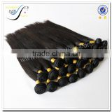 Wholesale top quality weaving machines sleek natural color unprocessed raw brazilian virgin human hair weave                                                                                                         Supplier's Choice
