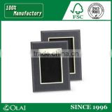 Classic Photo Picture Frame Size Color Option,Custom PU Leather Picture Frame