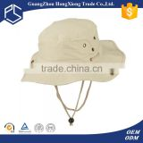 Wholesale plain white blank cotton fishing bucket hat