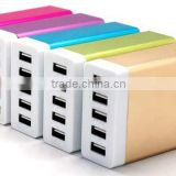 new product 5 USB 7A power bank wall charger