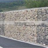 gabion wire cages rock wall