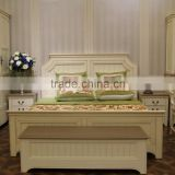 antique french and eurpean style wooden furniture bed