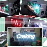 Creking P5mm wireless taxi led top light display /3G WIFI taxi top led display xxx video/P5 taxi led display free video x china