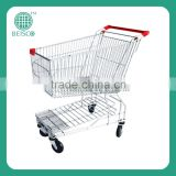 Stair climbing trolley for shopping mall and supermarket