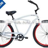 cheap price 26 inch hi-ten steel frame men's beach cruiser bike for sale                                                                         Quality Choice