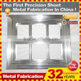 custom polishing/powder coating Aluminum frame manufacture for building construction