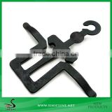 Sinicline 2015 New In Black Plastic Hook For Boots                                                                         Quality Choice