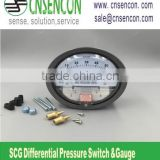 High quality Magnehelic Air Differential Pressure Gages SCG