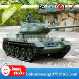 2.4G T-34 RC Tank henglong rc tank 1:16 RC tank launch BB shells