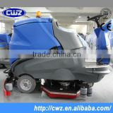 Commercial ride on large floor scrubber ,floor cleaning machine airport used scrubber                                                                         Quality Choice