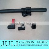 Telescoping Carbon Fiber Tubes with Twist Locking Clamps, water-fed window cleaning glassfiber/composite telescopic pole