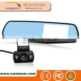 Private OEM Dual Camera 1080P Parking Mode GPS car dvr rearview mirror for world                                                                         Quality Choice