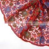 high quality guipure 100% polyester lace/saree lace wholesale for wedding dress