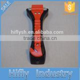HF-835 New R&D Multifunction Auto Emergency Car Hammer Car Escape Safety Hammar Seat Belt Cutter (CE Certificate)