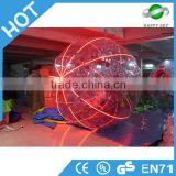 High quality LED zorbing ball price,human hamster LED zorbing ball,inflatable glowing LED zorb ball